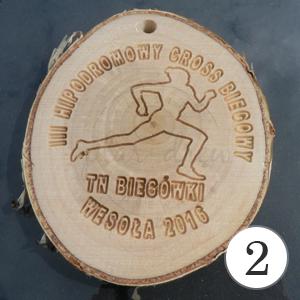 medale drewniane
